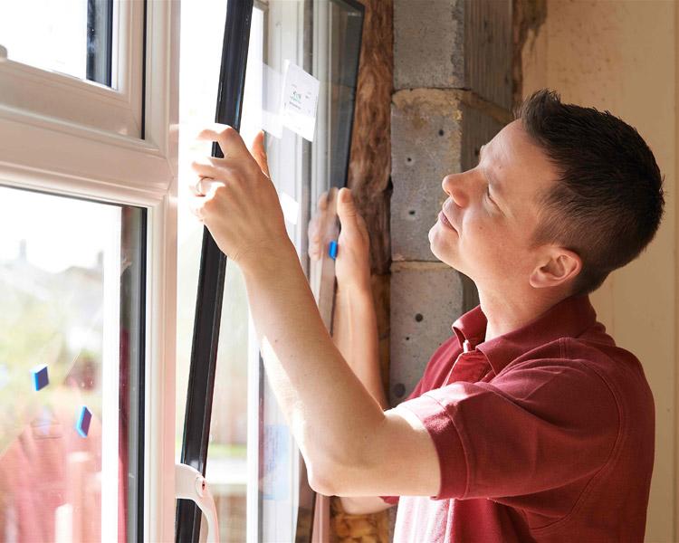 montujemy okna